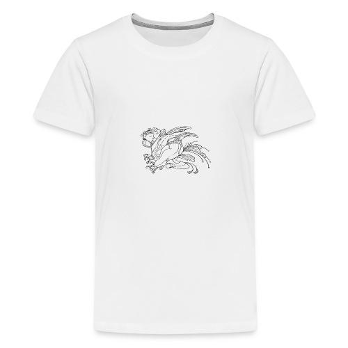 fat birdman - Maglietta Premium per ragazzi
