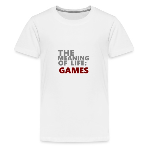 T-Shirt The Meaning of Life - Teenager Premium T-shirt