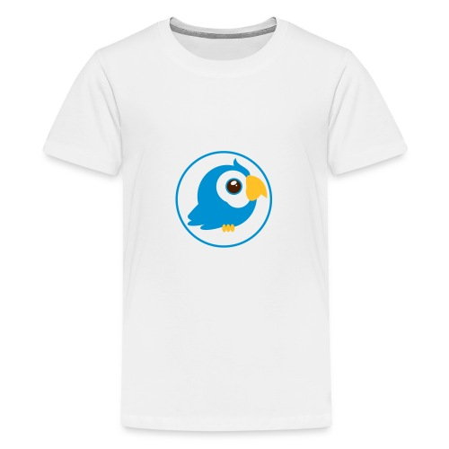 Birdy blue - Teenager Premium T-Shirt