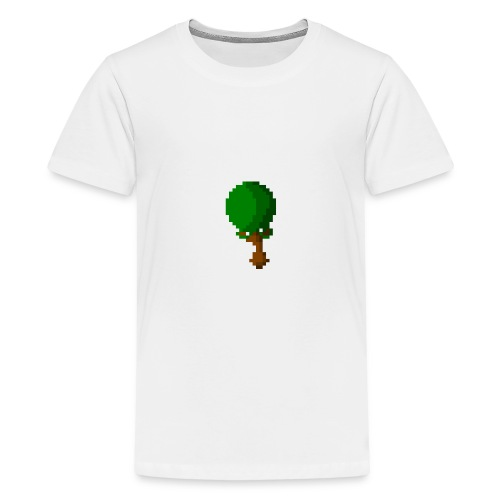 Happy Pixel Tree - Teenager Premium T-shirt