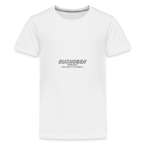 cuxhoben Neddersassen - Teenager Premium T-Shirt