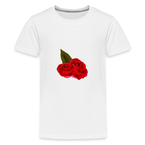 Rose d'amour - T-shirt Premium Ado