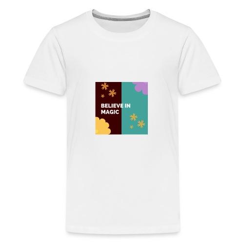 believe in magic xx - Teenage Premium T-Shirt