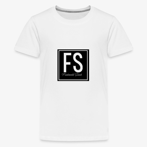 Fundamental Sounds Logo - Teenage Premium T-Shirt
