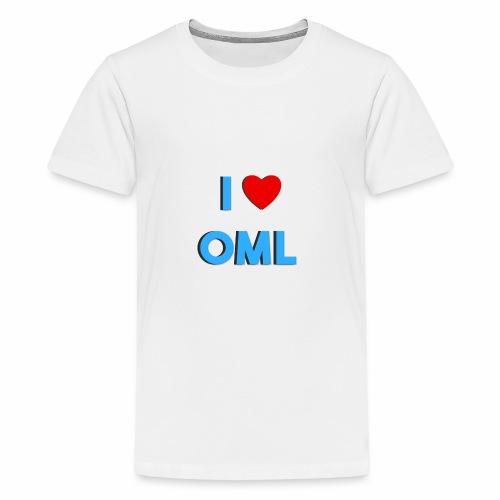 I LOVE OML - Teenager Premium T-shirt