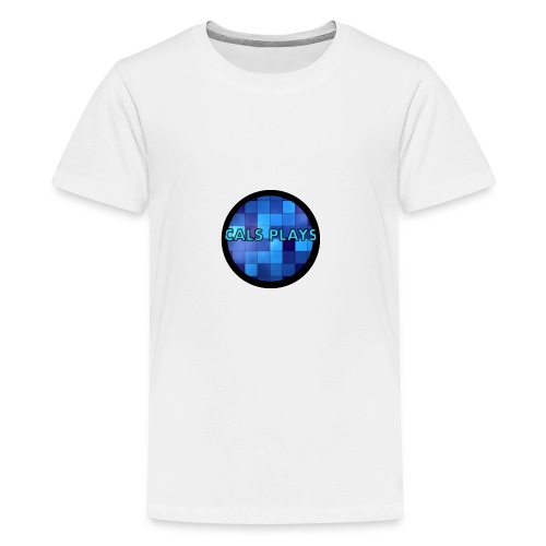Cals Plays Logo - Teenage Premium T-Shirt