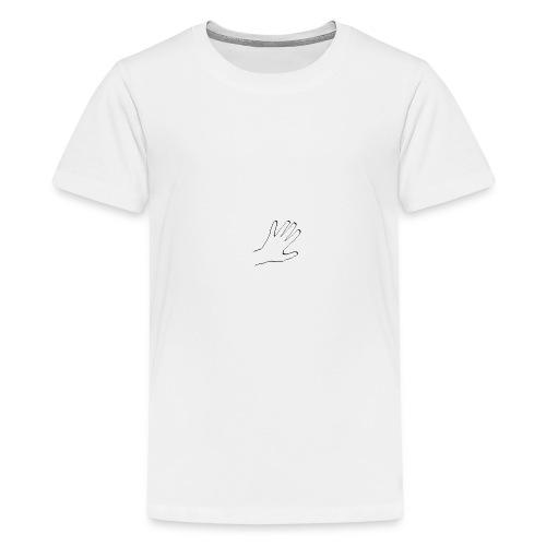 Handen - Premium-T-shirt tonåring