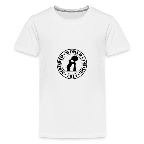 MADRID WORLD PRIDE 2017 - Camiseta premium adolescente