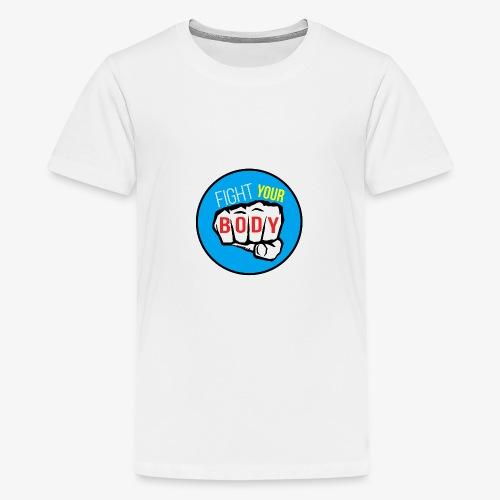 logo fyb bleu ciel - T-shirt Premium Ado
