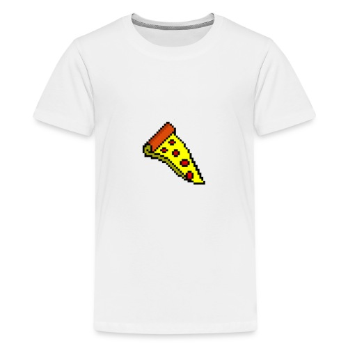 Pepperoni Pizza - Teenage Premium T-Shirt