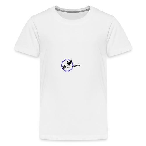 Lebe statt immer zu Lächeln - Teenager Premium T-Shirt