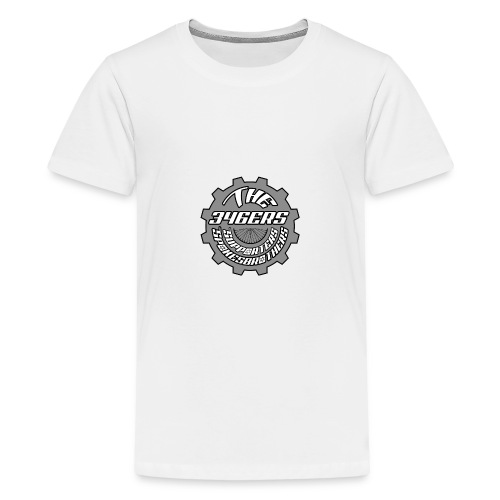 The 346ers Chainring Supporters Logo - Teenager Premium T-Shirt