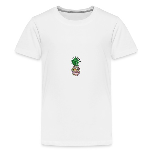 Moderne Ananas - Teenager Premium T-Shirt