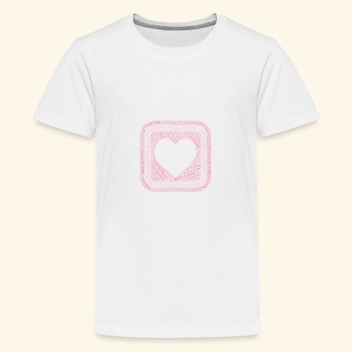 You are my everything with love - Teenage Premium T-Shirt
