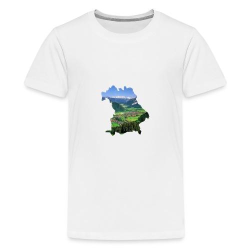 Allgäu Design - Teenager Premium T-Shirt