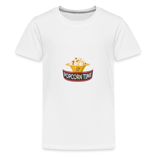 Popcorn Time - Teenager Premium T-shirt