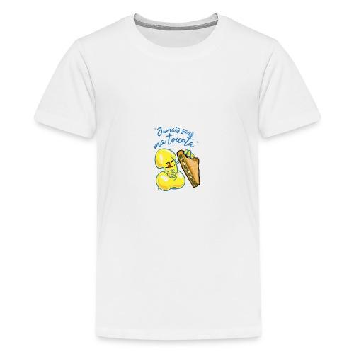 collection jamais sans ma tourta - T-shirt Premium Ado