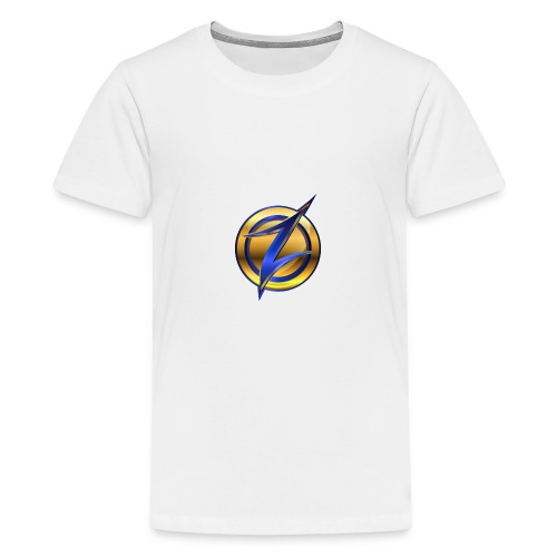 Zander logo - Teenage Premium T-Shirt