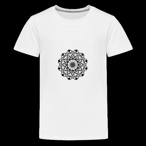 Mandalas 2 - Camiseta premium adolescente