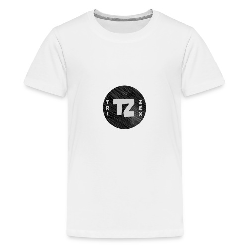 Trizex Logo Volledig - Teenager Premium T-shirt
