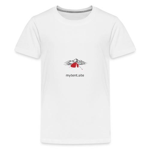 mytentsite - Teenage Premium T-Shirt