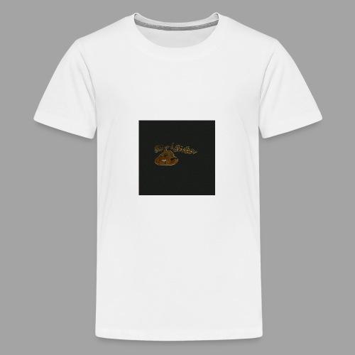 Günni Günter Design Black Background- - Teenager Premium T-Shirt