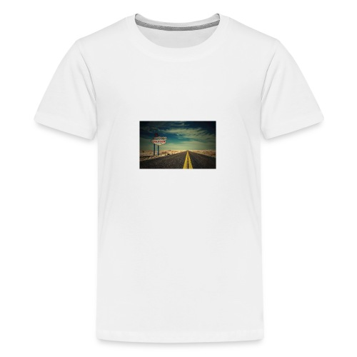 las vegas hd - Teenager Premium T-Shirt