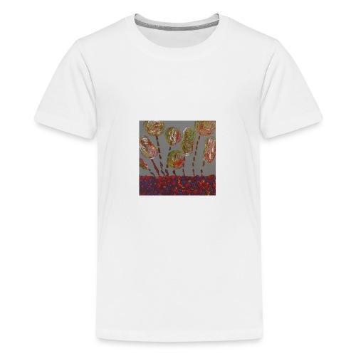 des fleurs - T-shirt Premium Ado