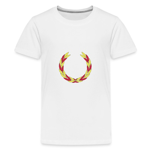 BS--_stor_text-_helvitt-_transp_botten-svg - Premium-T-shirt tonåring