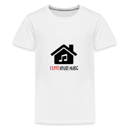 House Music Haus Party Shirt - Teenager Premium T-Shirt