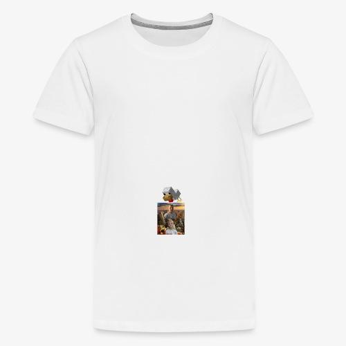 Minecraft høna - Premium T-skjorte for tenåringer