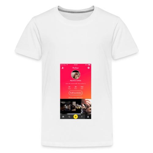 Flasch mit Bild 🌸 - Teenager Premium T-Shirt