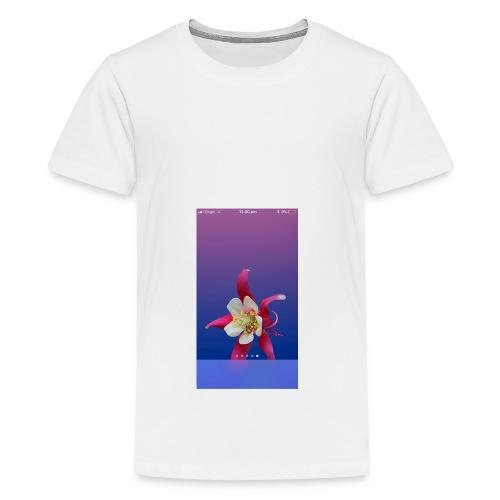 Flower iPhone case - Teenage Premium T-Shirt