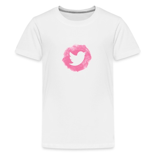 pink twitt - Teenage Premium T-Shirt