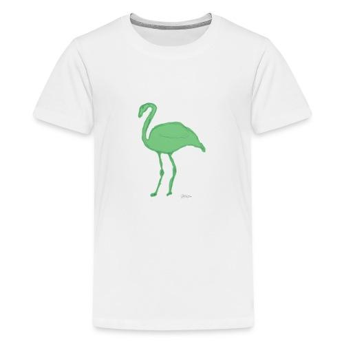 flamenco - Camiseta premium adolescente
