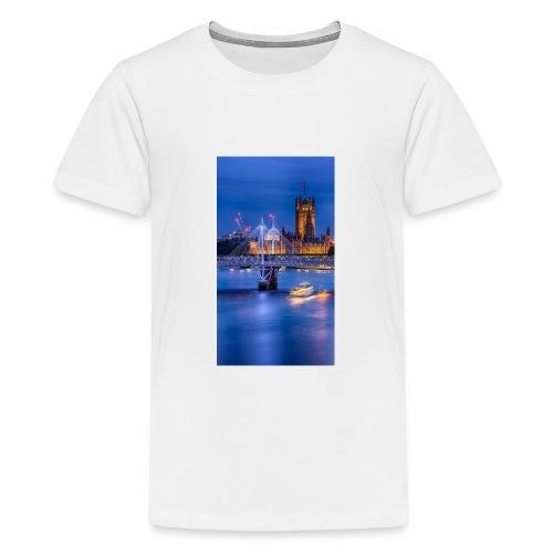 Peace full - Teenage Premium T-Shirt