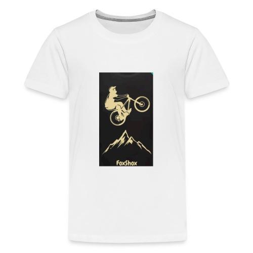 FoxShox - Teenager Premium T-Shirt