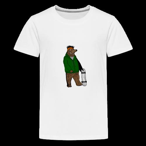 Skate Bjorn - Teenage Premium T-Shirt
