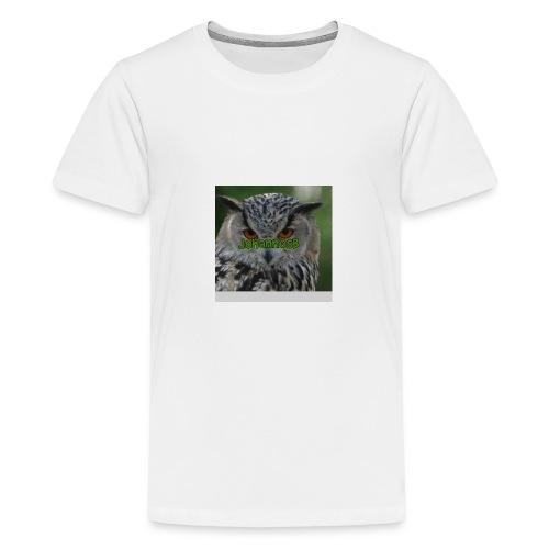 JohannesB lue - Premium T-skjorte for tenåringer