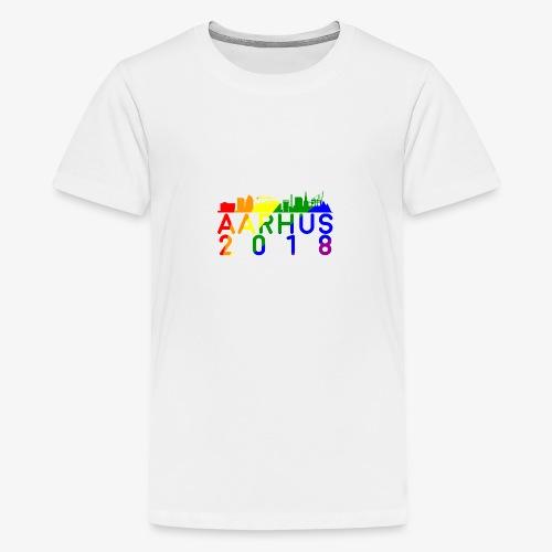 Aarhus Pride 2018 - Teenager premium T-shirt