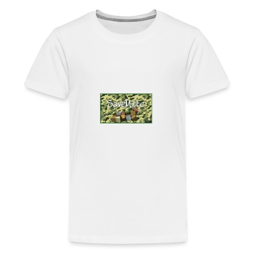 SaveMitte V1 Merch - Teenager Premium T-Shirt