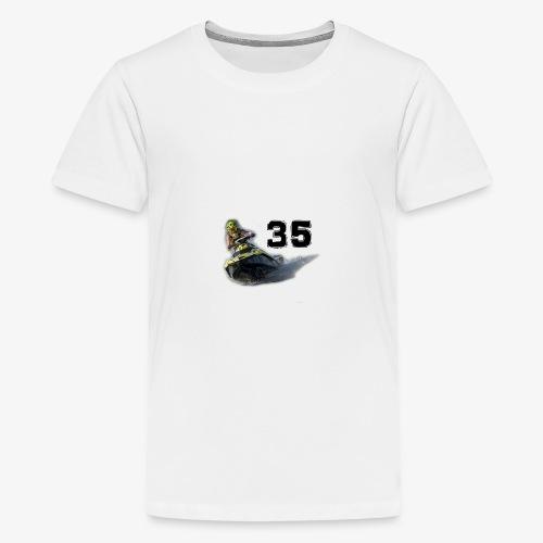 jetski35 - Teinien premium t-paita
