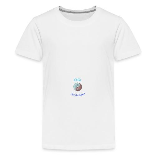CoGie, Feel the Balance - Teenage Premium T-Shirt