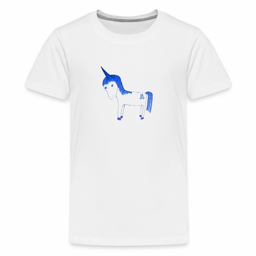 Einhorn Lilly - Teenager Premium T-Shirt