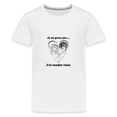 cheval j'peux pas FC - T-shirt Premium Ado