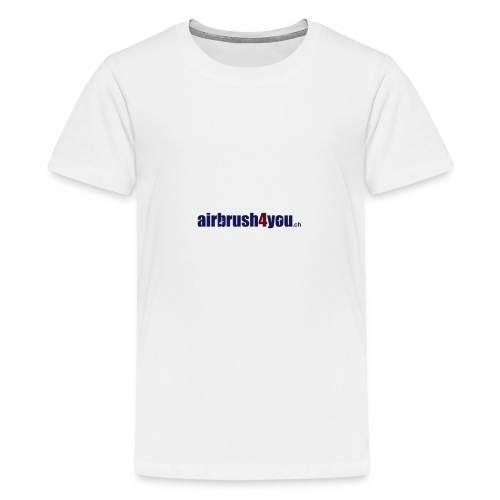 Airbrush4You.ch Airbrush Switzerland - Teenager Premium T-Shirt