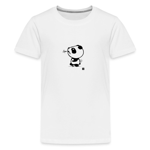 Panda run - T-shirt Premium Ado
