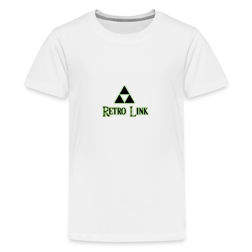 Logo Retro Link - T-shirt Premium Ado