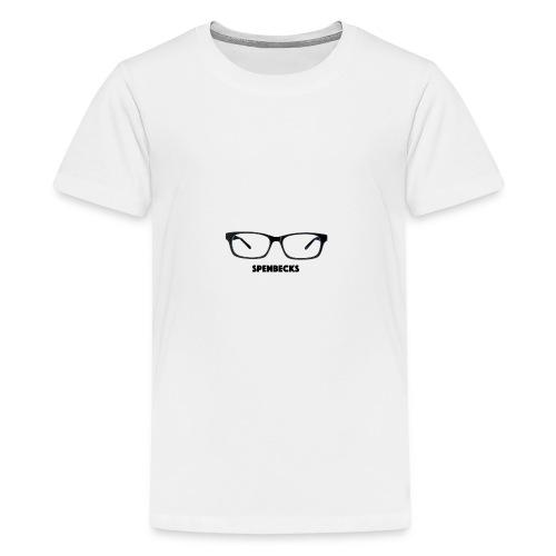 *LIMITED TIME* Spenbecks Glasses - Teenage Premium T-Shirt