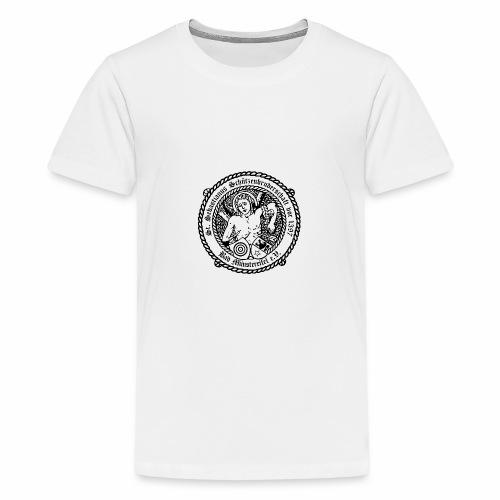 Schuetzenlogo 2018 schwarz - Teenager Premium T-Shirt